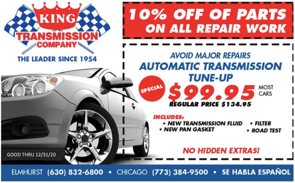 Transmission Tune-up Coupon