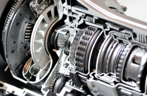 Repairing a car's transmission in Glendale Heights, Illinois